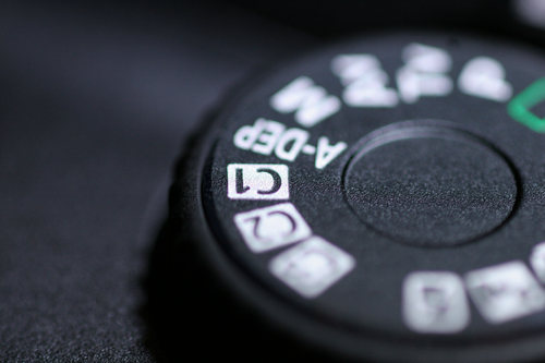 Canon EOS 40D Custom Function on Main Dial